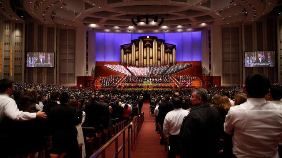 Congregational Hymn during April 2014 Afternoon General Conference Session